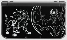 New Nintendo 3DS XL edición Solgaleo y Lunala