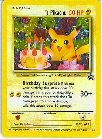 Archivo:Birthdays Pikachu (WoTC).jpg