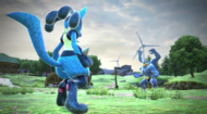 Lucario vs Machamp Pokkén Tournament