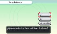 Recibir datos del Nexo Pokémon XY