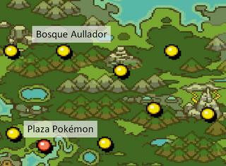 Map Bosque Aullador