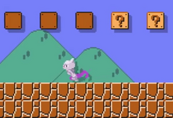 Mewtwo Super Mario Maker