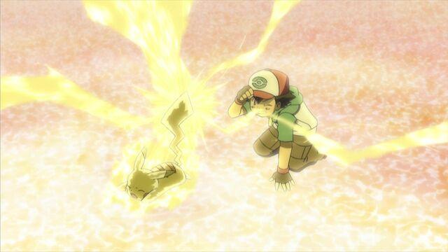 Archivo:EP661 Ash acercándose a pikachu.jpg