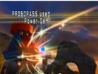 Probopass usando joya de luz