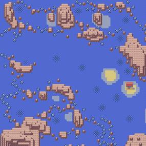 Mapa de la ruta 124