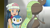 EP755 Dawn despidiendose de Meloetta