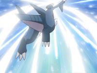 EP583 Gabite usando golpe aéreo