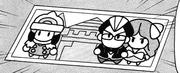 Castillo impresión manga