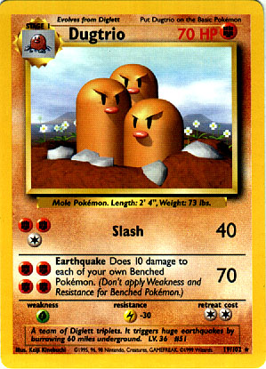 Archivo:Dugtrio (Base Set TCG).jpg