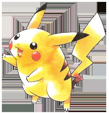 Archivo:Pikachu en la primera generación.png
