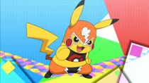 EE16 Pikachu enmascarado