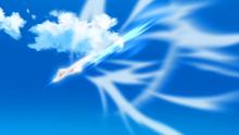 EP974 Lycanroc usando roca veloz