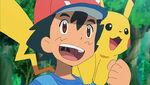 EP944 Ash y Pikachu