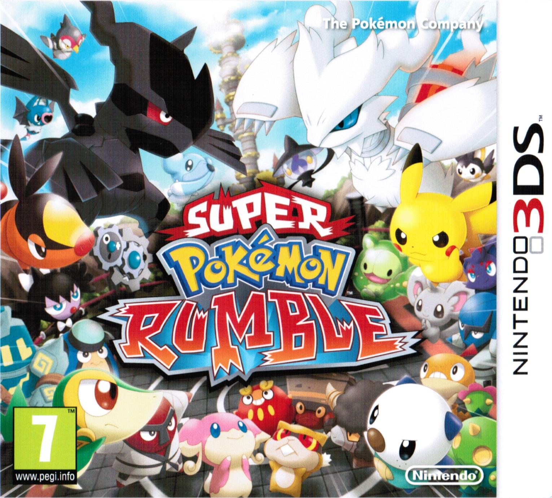 Super Pokemon Rumble Decrypted 3DS EUR