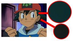 Ash (colores del pelo marcados)
