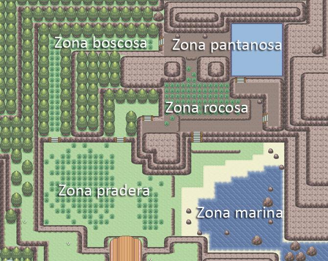 Plano del Parque Compi.