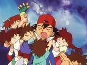 EP005 Ash detenido por los hermanos de Brock