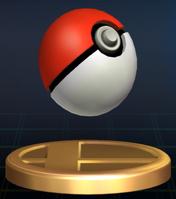 Trofeo Poké Ball SSBB
