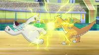 EP752 Dragonite vs Beartic