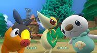 PokéPark 2 selección Pokémon