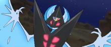 Lunala forma Necrozma en combate USUL