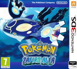 Carátula Pokémon Zafiro Alfa