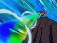EP497 Suicune lanzando rayo aurora