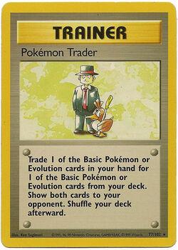 Carta Pokémon Trader