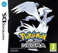 Carátula de Pokémon Black en Español