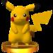 Trofeo de Pikachu SSB4 (3DS)