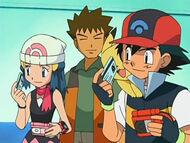 EP480 Dawn y Ash con sus pases