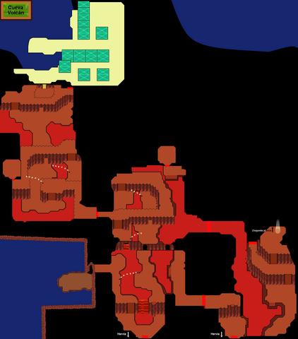 Archivo:Plano de Cueva Volcán (primera planta).png