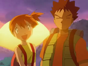 EP275 Misty y Brock despidiendose