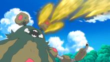 EP975 Garbodor usando bomba ácida
