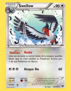 Carta de Swellow