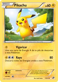 Carta de Pikachu