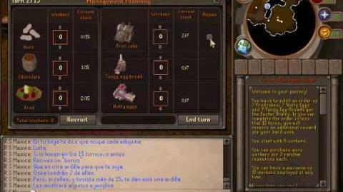 RuneScape evento de pascua 2010-2011 guía.