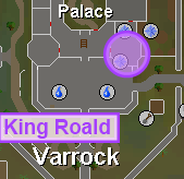 King Roald location