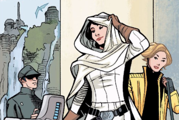 Archivo:Leia and Evaan arrive on Naboo.png