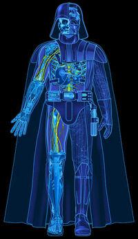 Impresiones azules de Vader