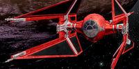 Caza estelar TIE/In de la Guardia Real del Emperador