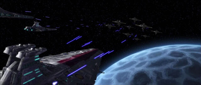 Archivo:Battle over Rishi moon.jpg