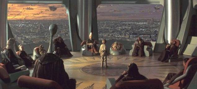 Archivo:Salon del Alto Consejo Jedi.JPG