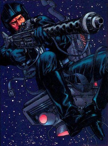 Archivo:Biggs blaster in space.jpg