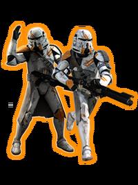 Paracaidistas clones