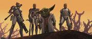 Ambush Yoda clones