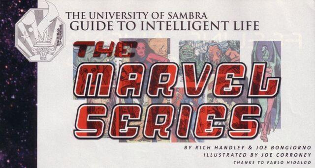 Archivo:Guide to Intelligent Life - Marvel G1.jpg