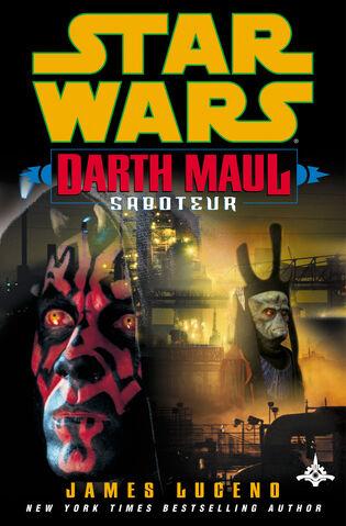 Archivo:Darth Maul - Saboteur Cover.jpg