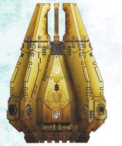 Cápsula de Desembarco modelo Lucius Lamentadores