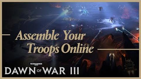 Dawn of War III Assemble Your Troops Online - PEGI edited version - SPA